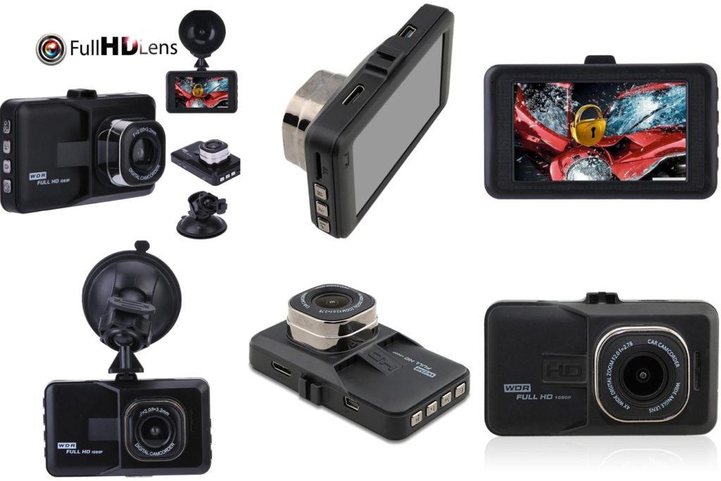 Автомобильный видеорегистратор HD