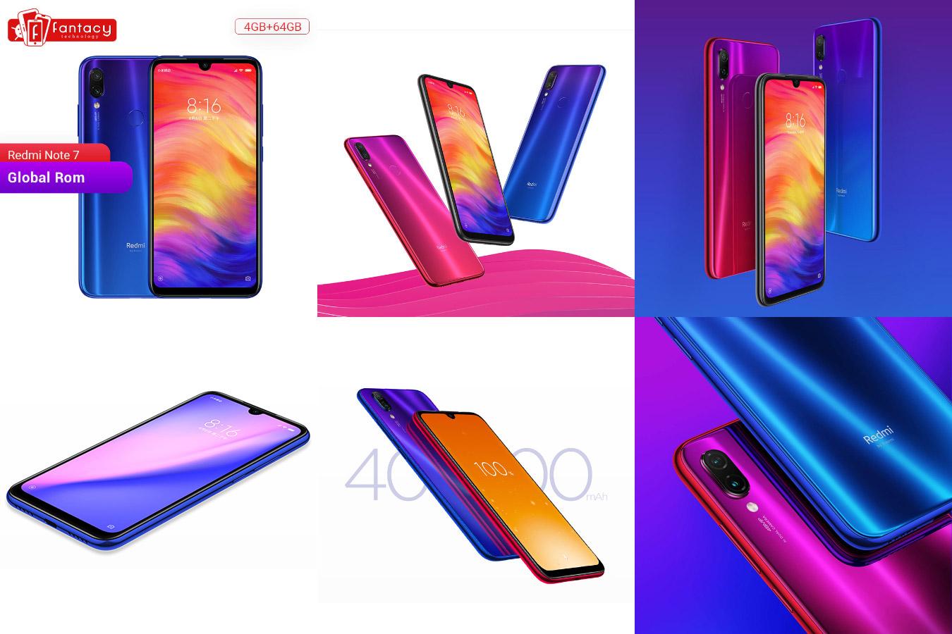 Стильный современный смартфон Xiaomi Redmi Note 7