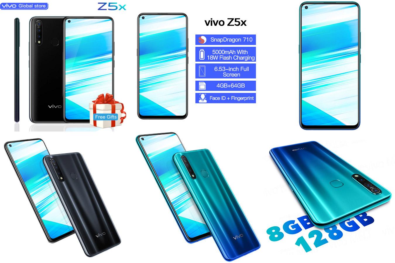 Современный смартфон vivo Z5x