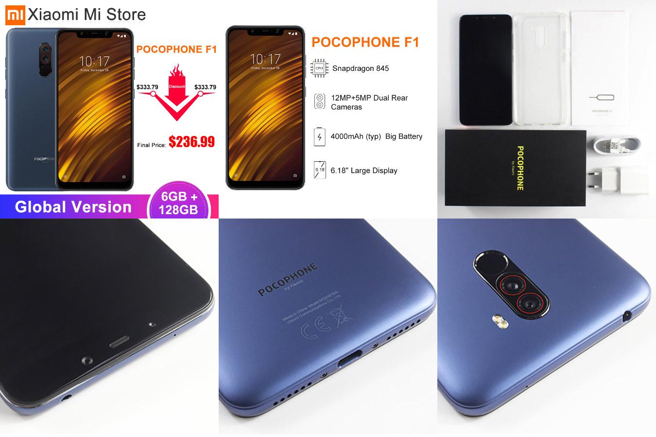 Смартфон Xiaomi POCOPHONE F1