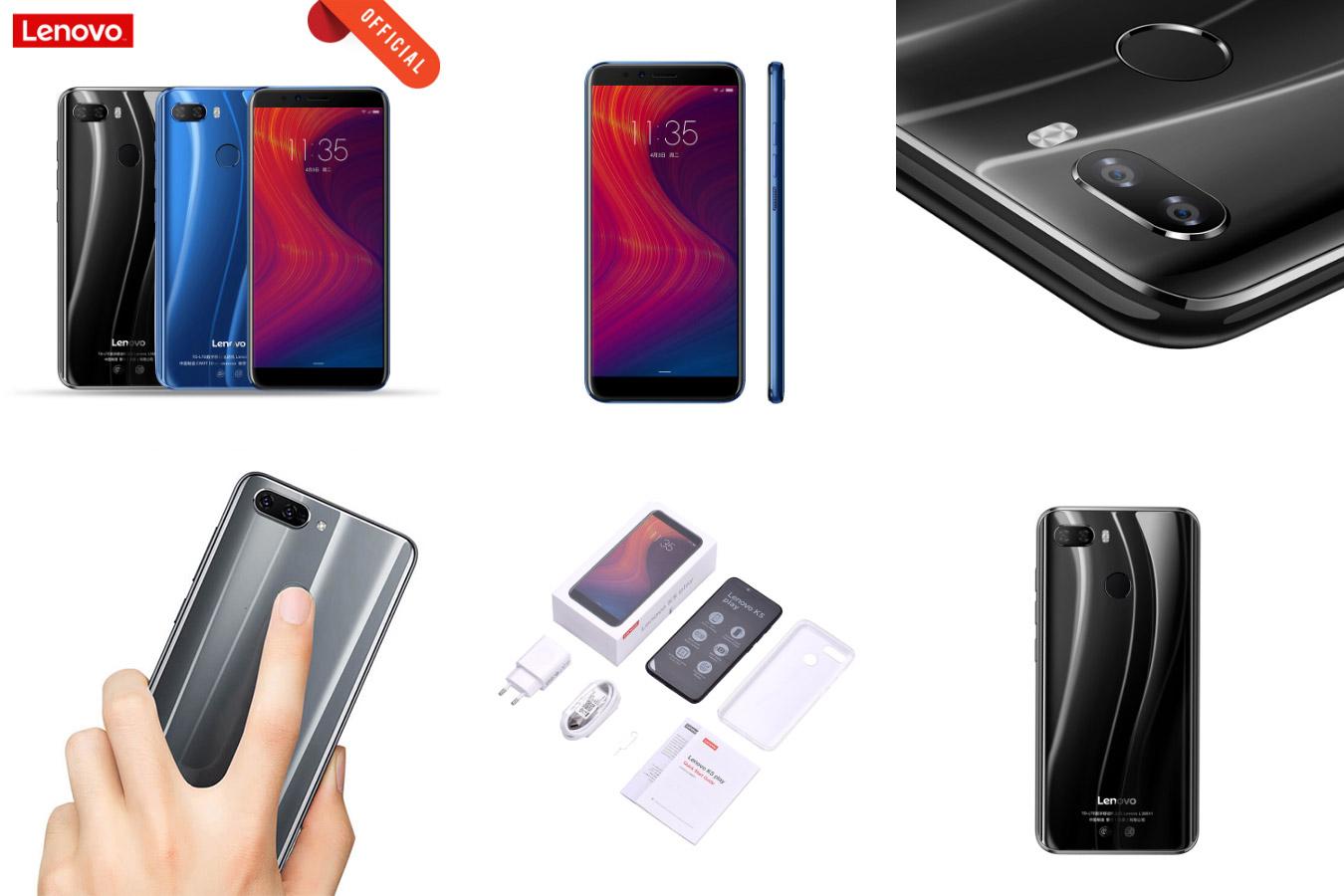 Доступный смартфон Lenovo K5 Play