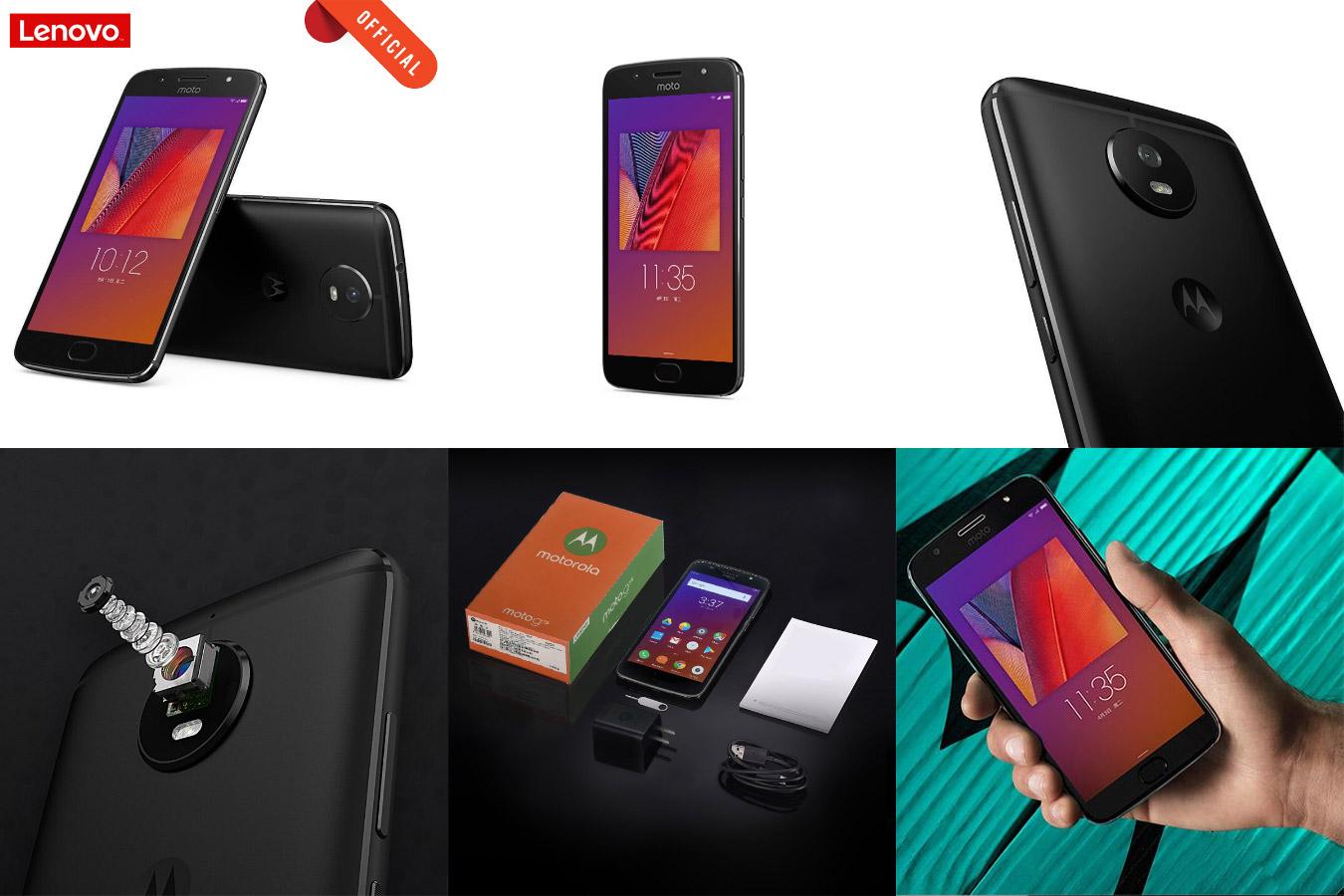 Бюджетный мобильный телефон Moto G5S