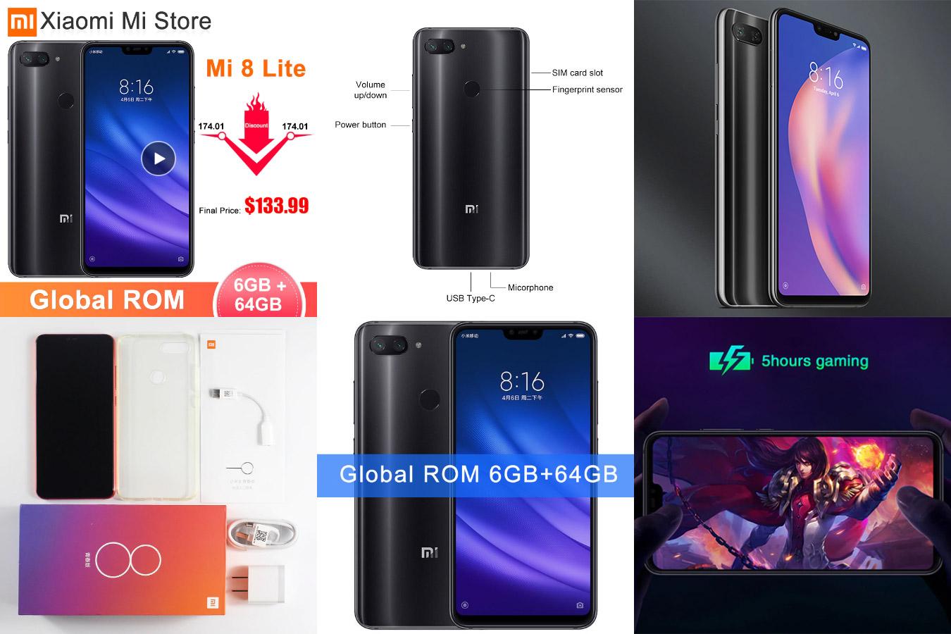 Мощный смартфон Xiaomi Mi 8