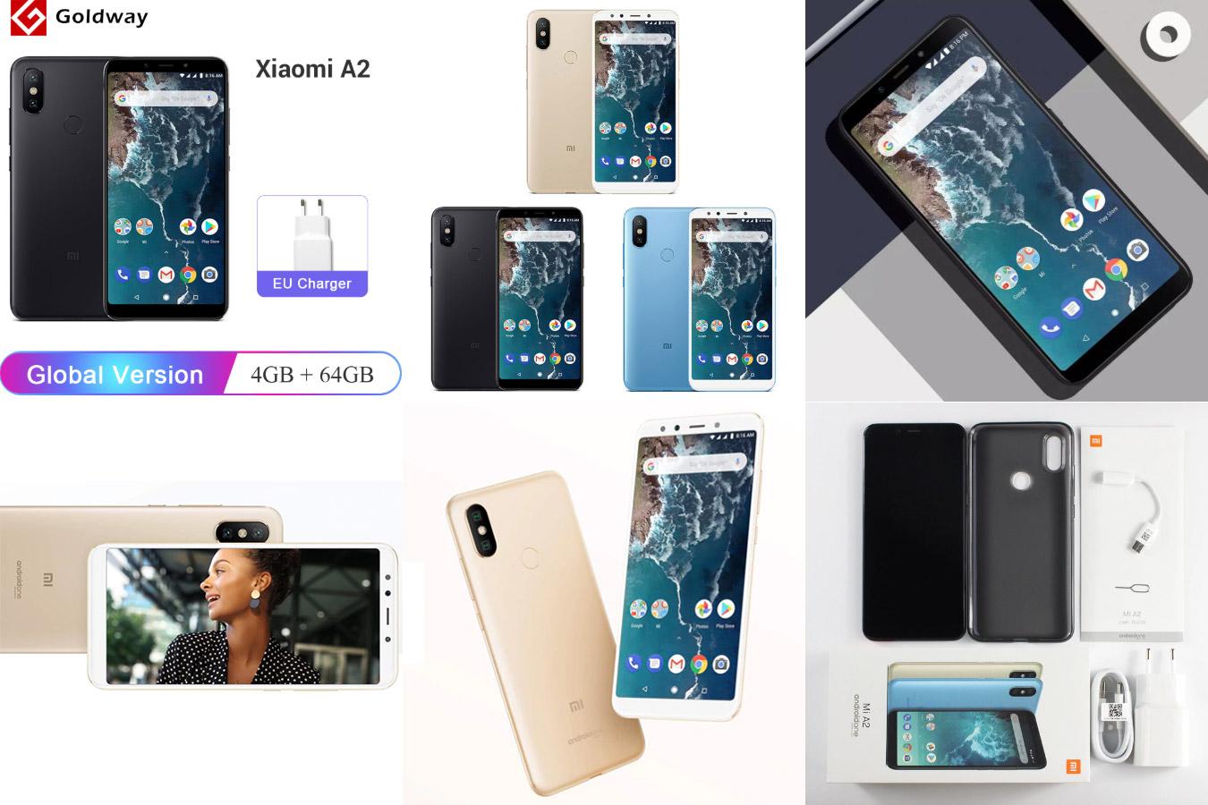 Смартфон Xiaomi Mi A2 с алиэкспресс