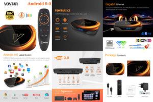 Смарт андроид ТВ-приставка X3