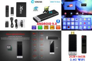 Мини smart 4k tv box