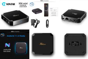 TV-приставка на андроид X96 мини