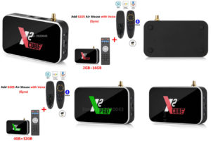 TV приставка X2Cube с алиэкспресс