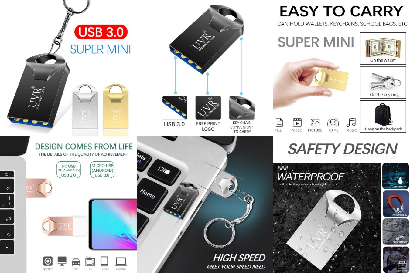 Лучшая высокоскоростная флешка Super mini Flash drive 3.0