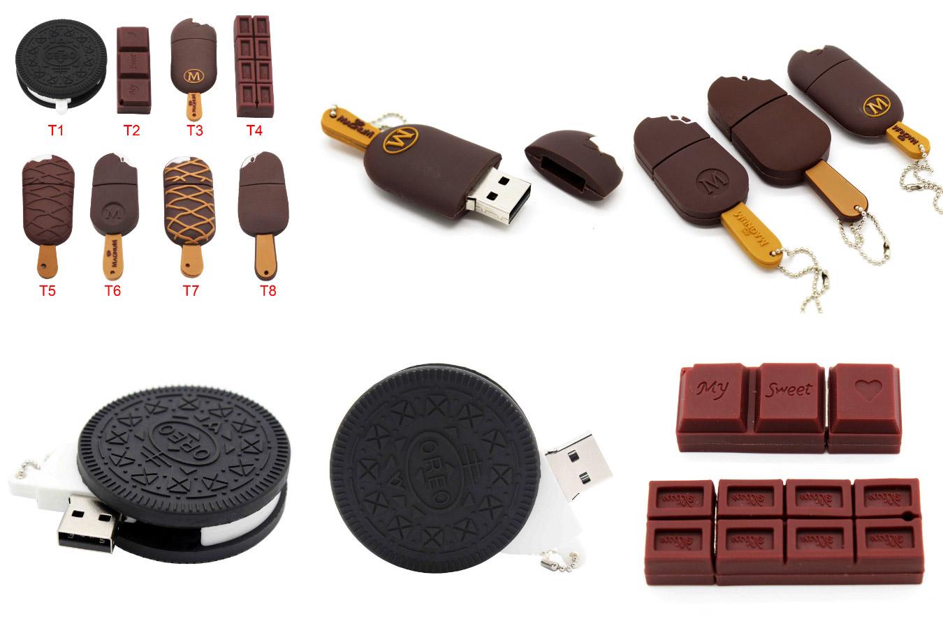 Уникальная флешка в виде печенья или мороженого BiNFUL Oreo USB 2.0