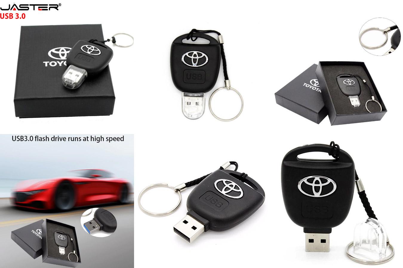 Флешка в виде автомобильного ключа JASTER USB 3.0