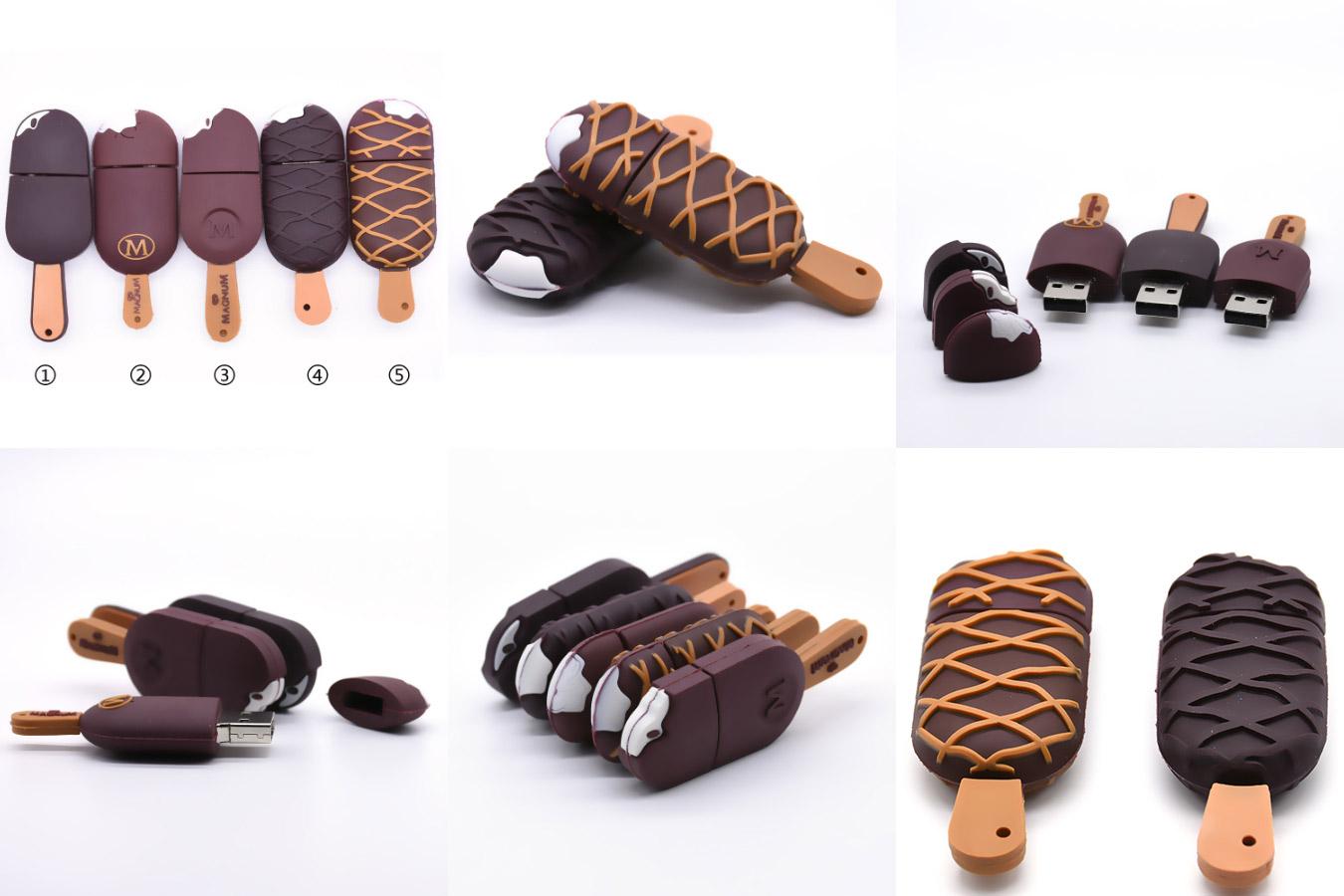 Флешка с необычным дизайном в виде мороженого USB Flash drive ice-cream