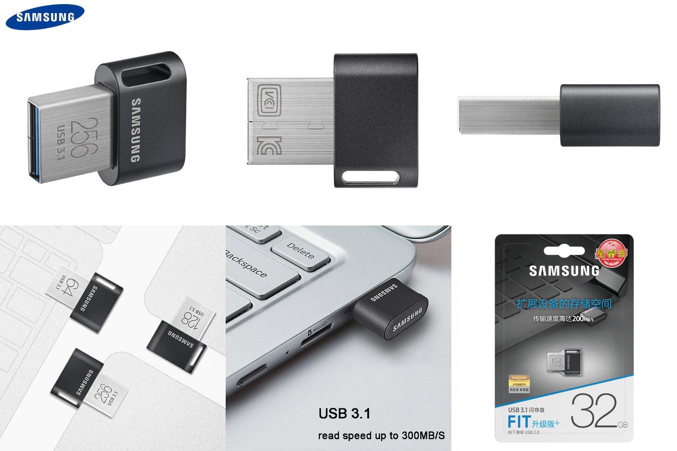 Оригинальный мини-накопитель Original Samsung USB 3.1