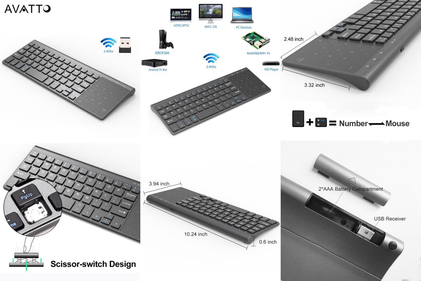 Самая популярная клавиатура с алиэкспресс Avatto T19