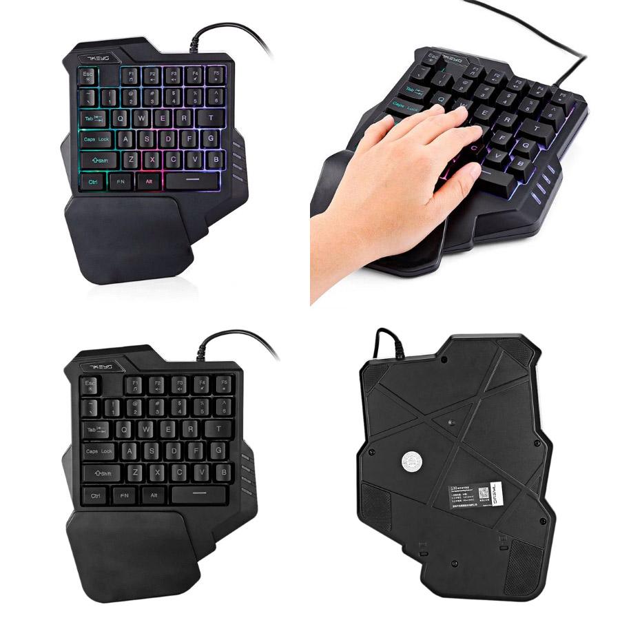 Необычная игровая мини-клавиатура HXSJ G30