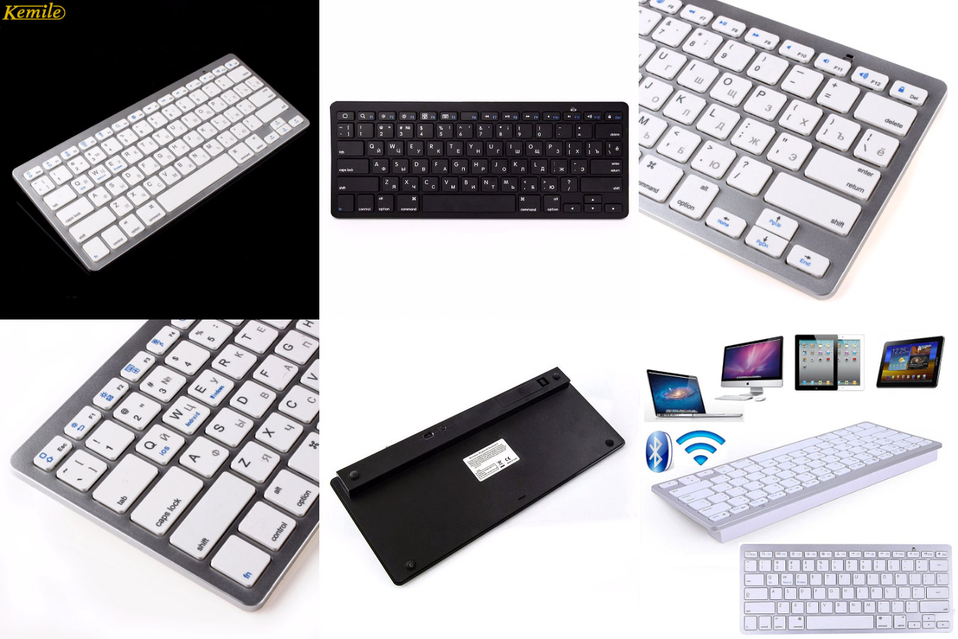 Тонкая клавиатура для смартфонов Kemile X5R