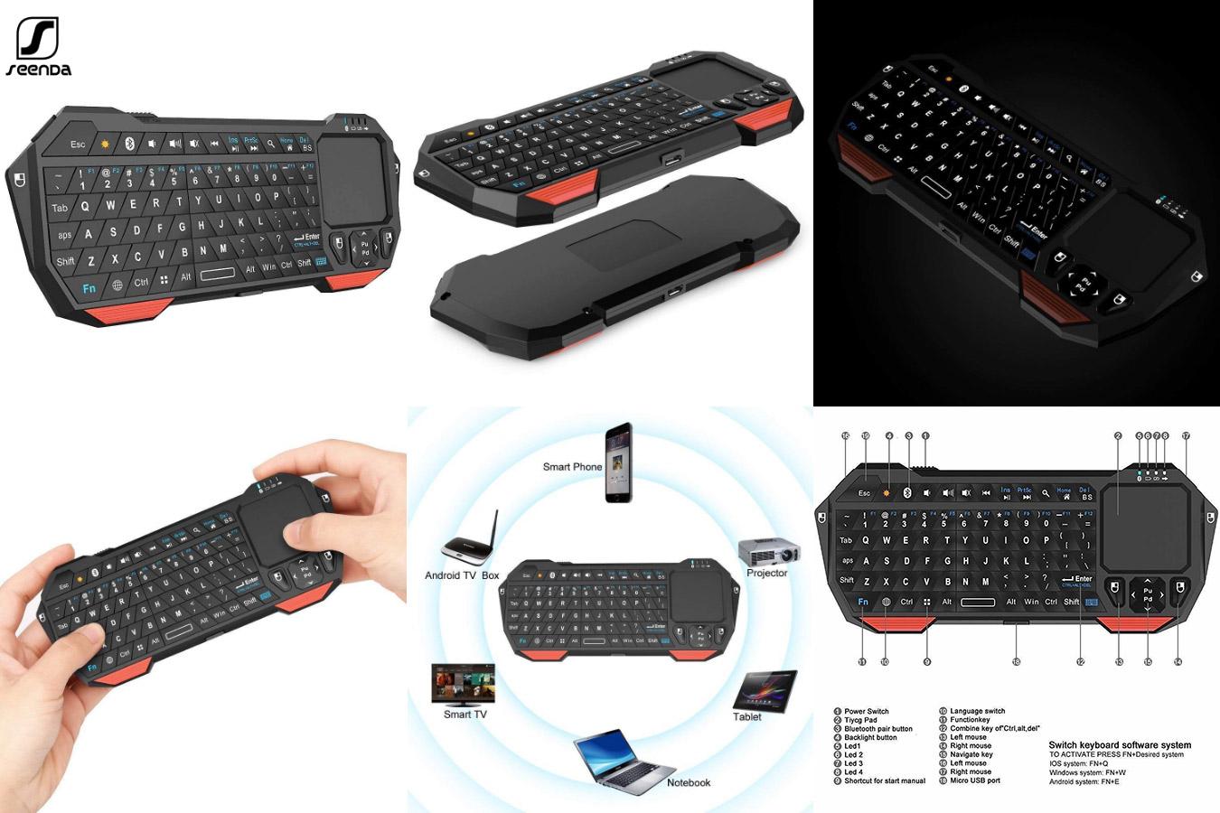 Клавиатура для планшета с Touchpad SeenDa