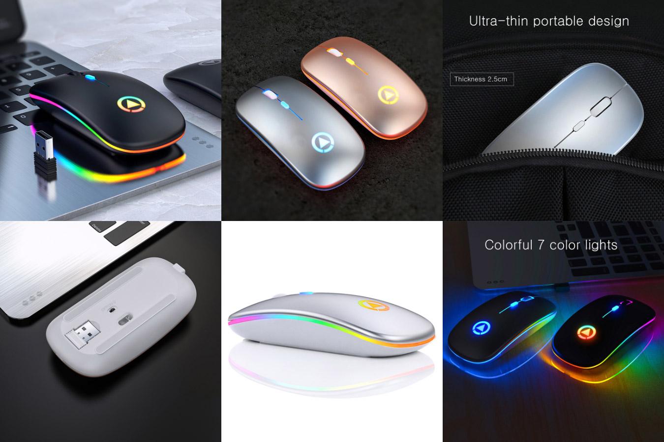 Компьютерная мышь на аккумуляторах REDSTORM A2