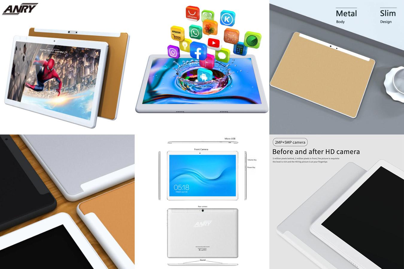 Качественный планшет ANRY 4G LTE