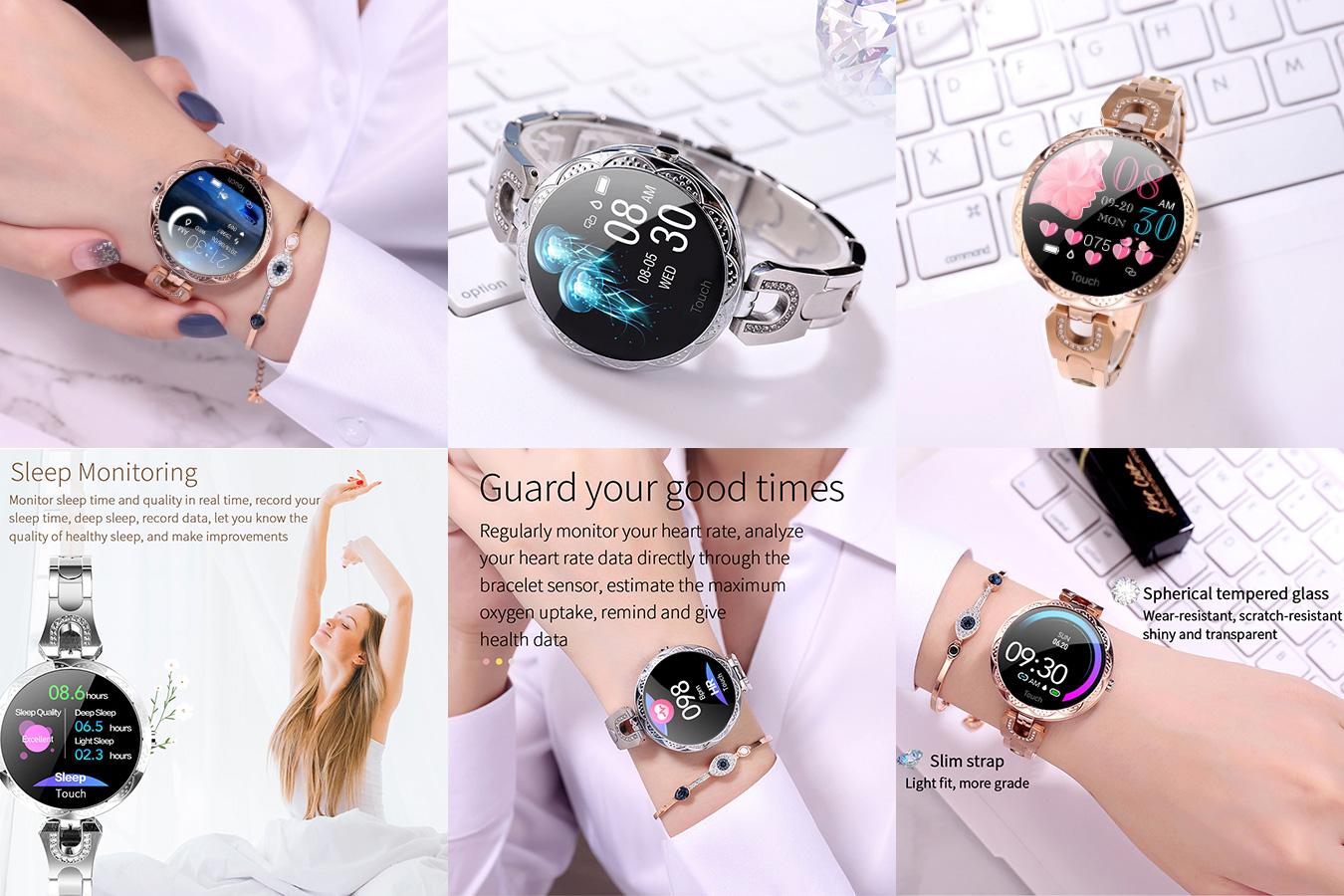 Удобные женские смарт-часы Melanda 2020 для повседневного ношения