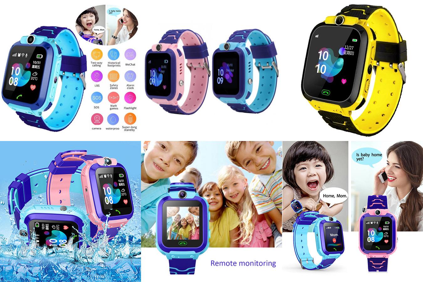 Водонепроницаемые детские смарт-часы Q12B