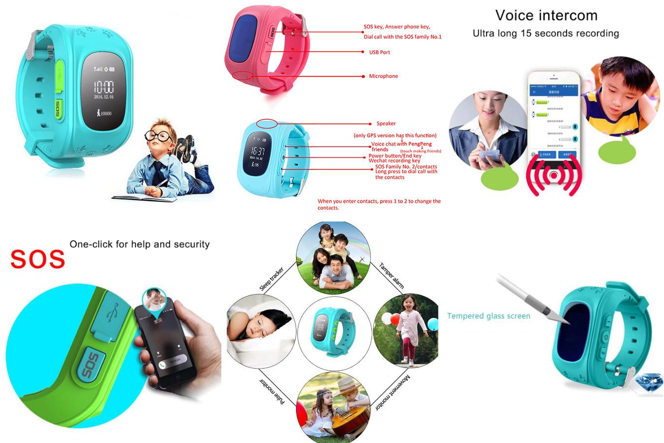 Детские смарт-часы с поиском местоположения Q50 с алиэкспресс