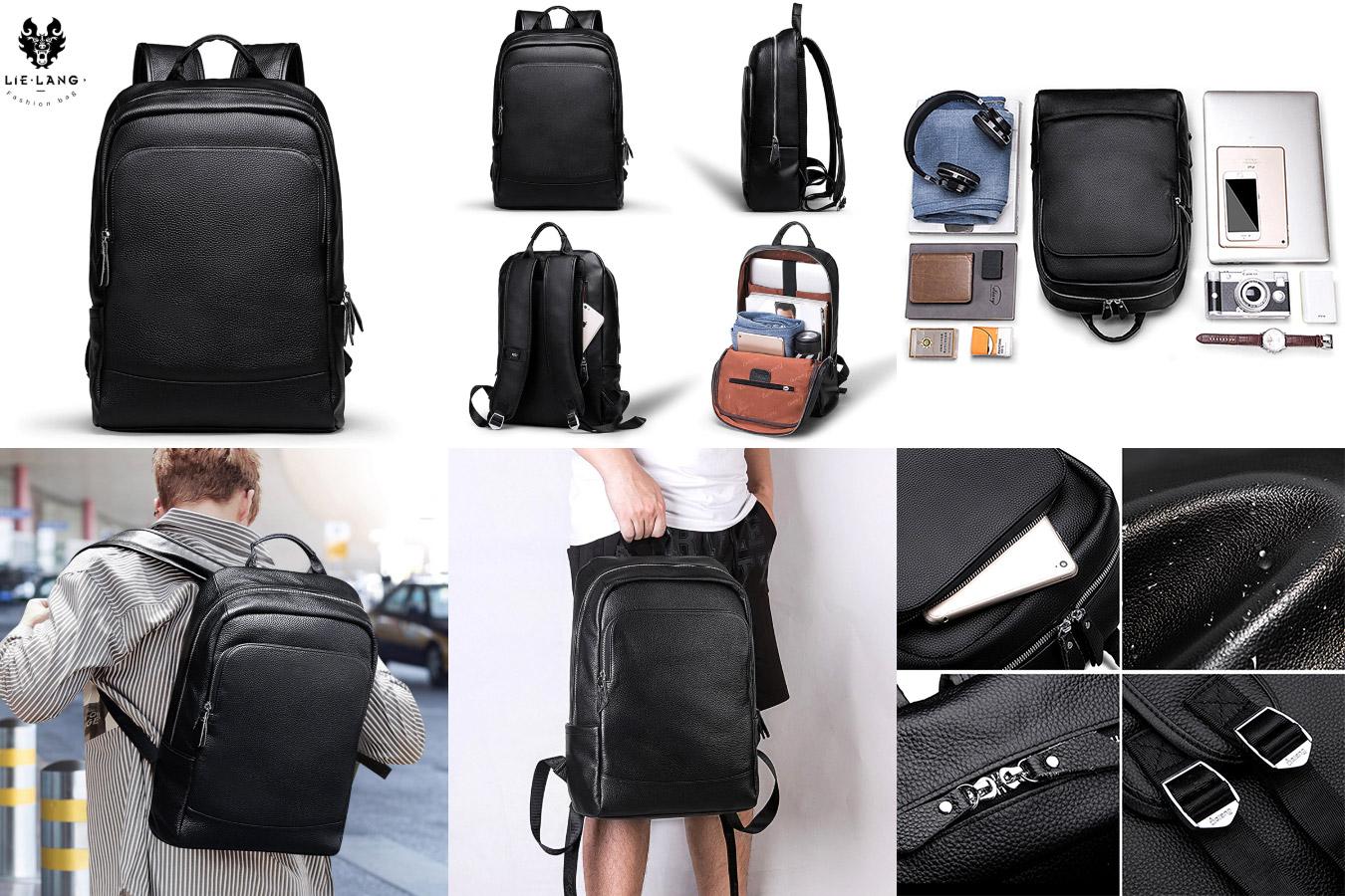 Мужской рюкзак из искусственной кожи