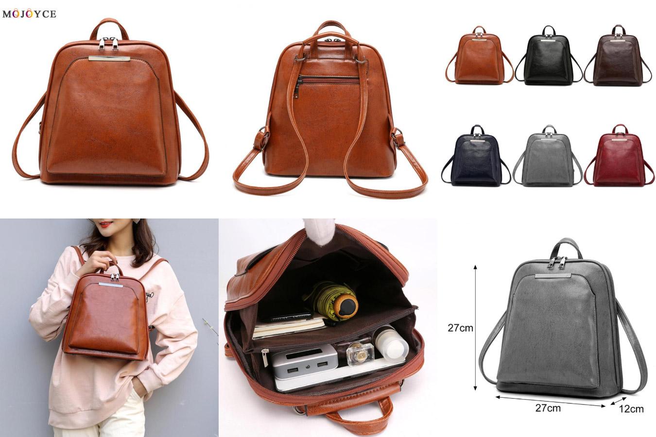 Классический рюкзак из искусственной кожи