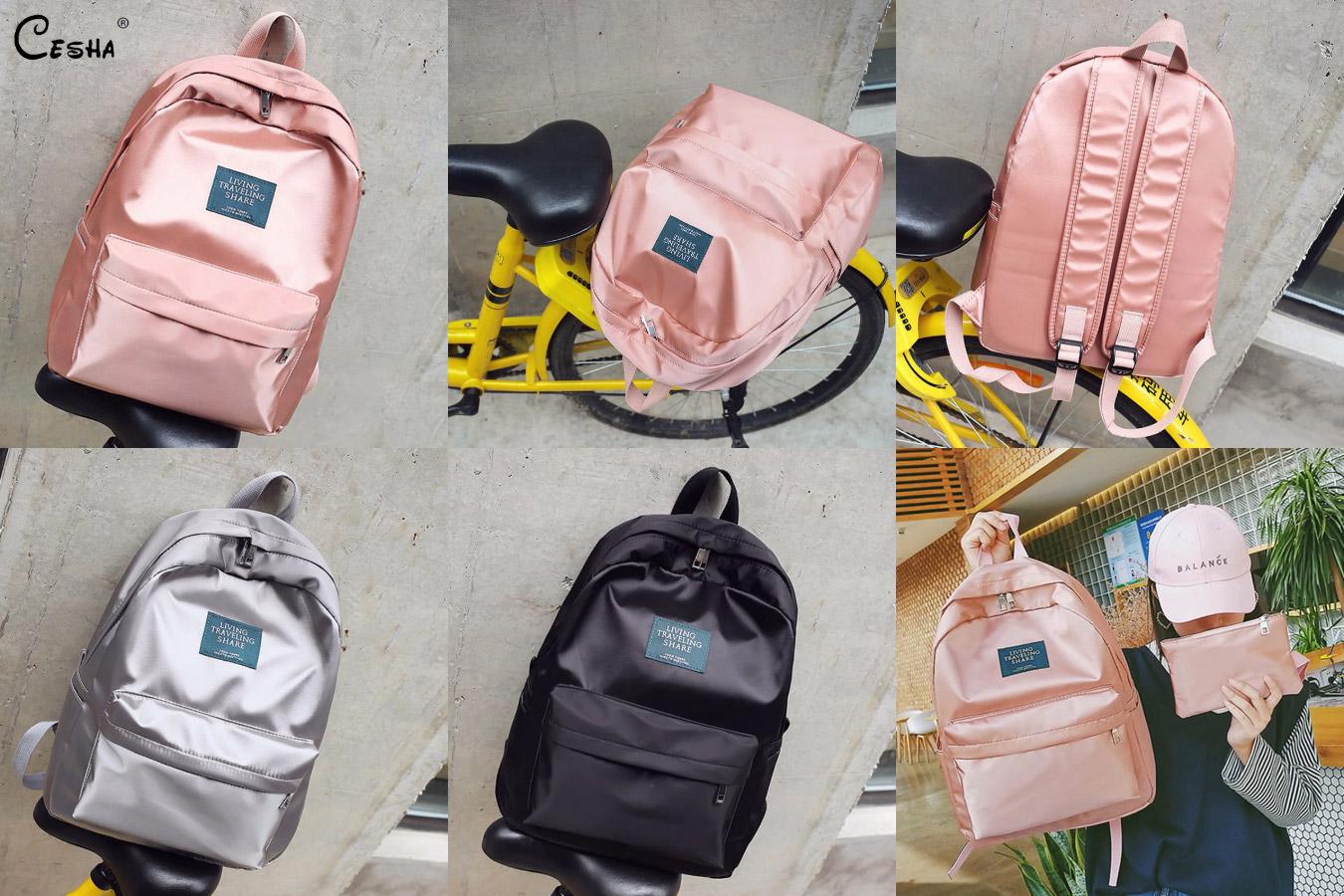 Рюкзак с эффектом металлик с алиэкспресс