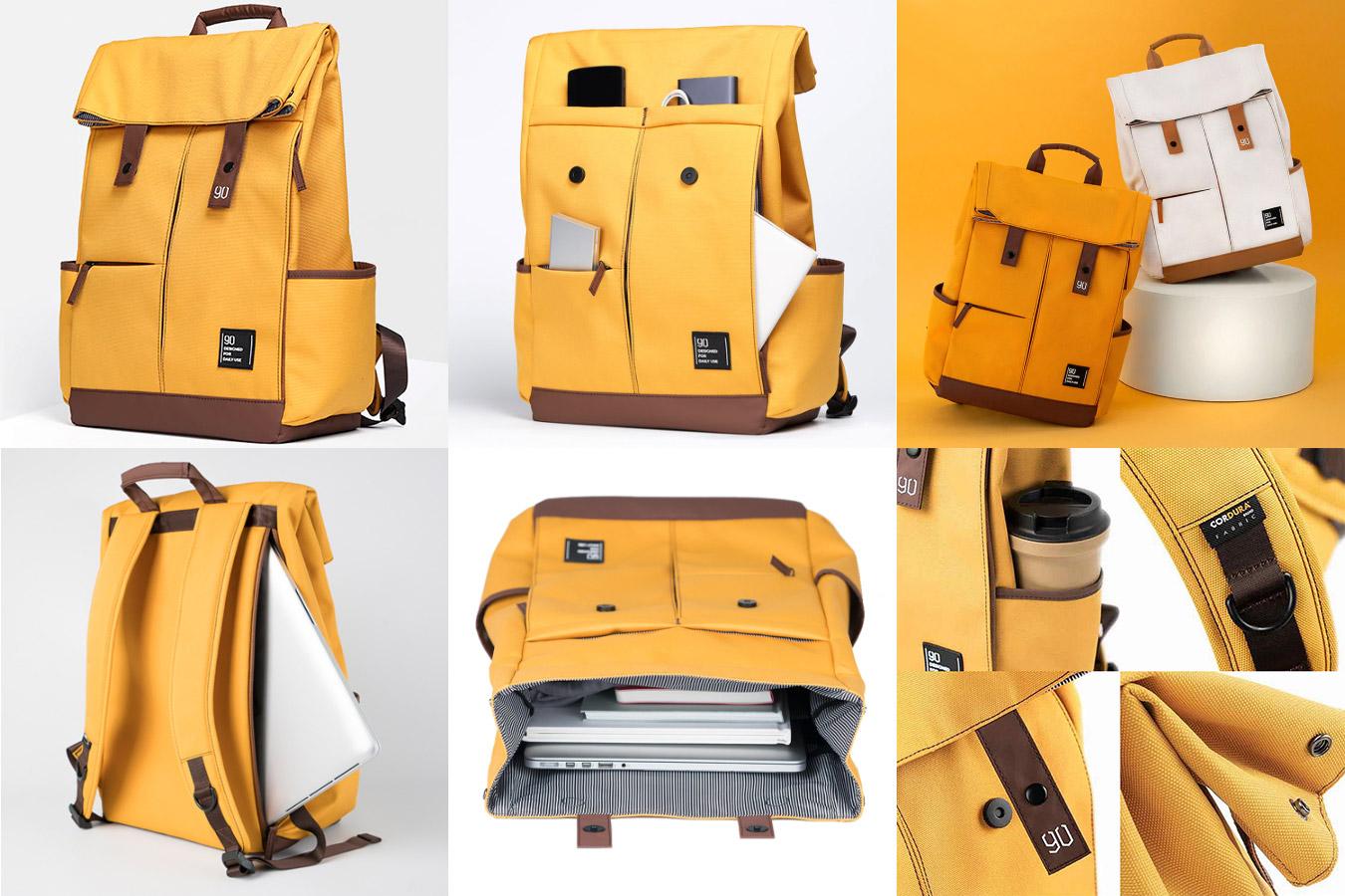 Винтажный рюкзак с защитой от влаги