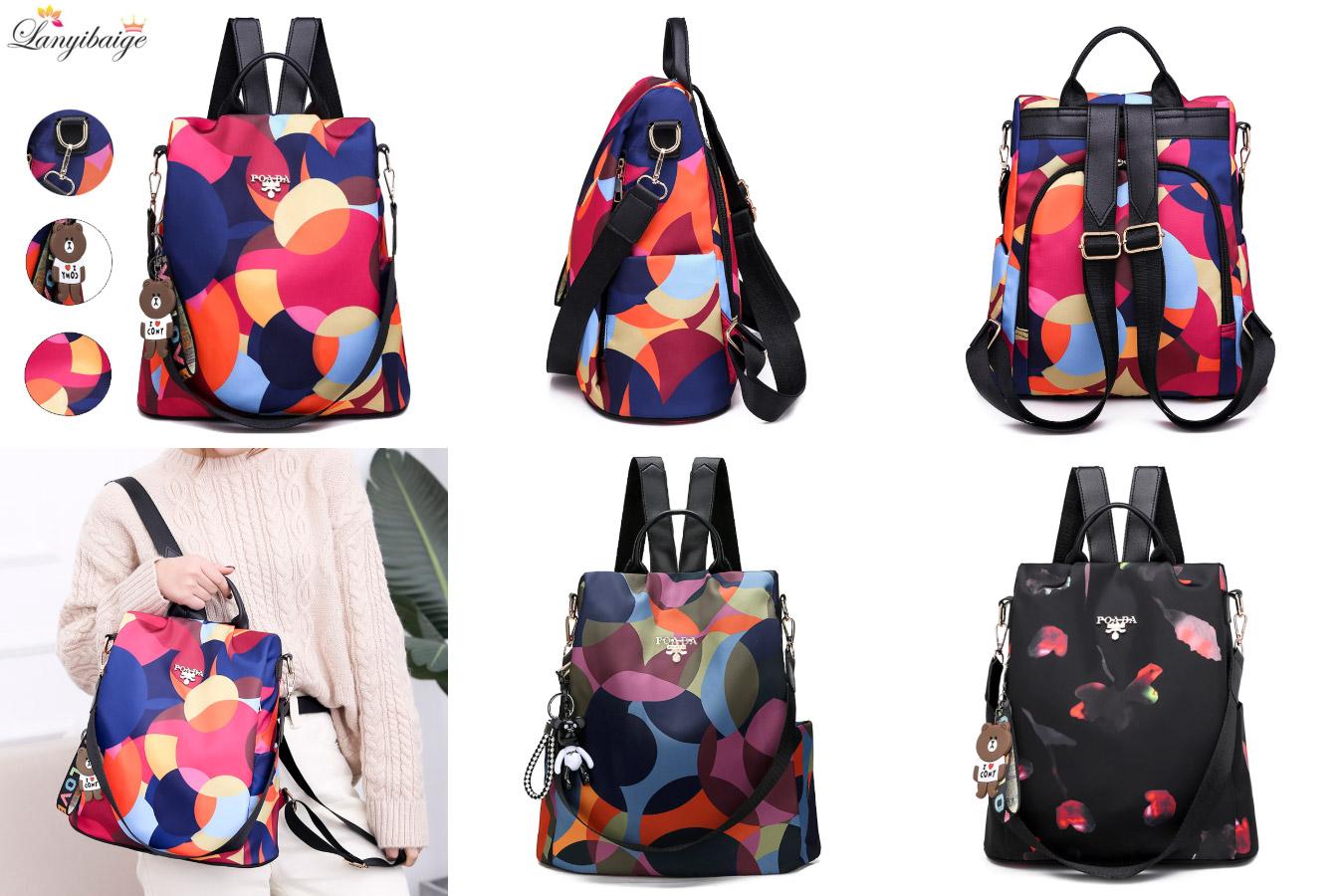 Яркий рюкзак для смелых девушек