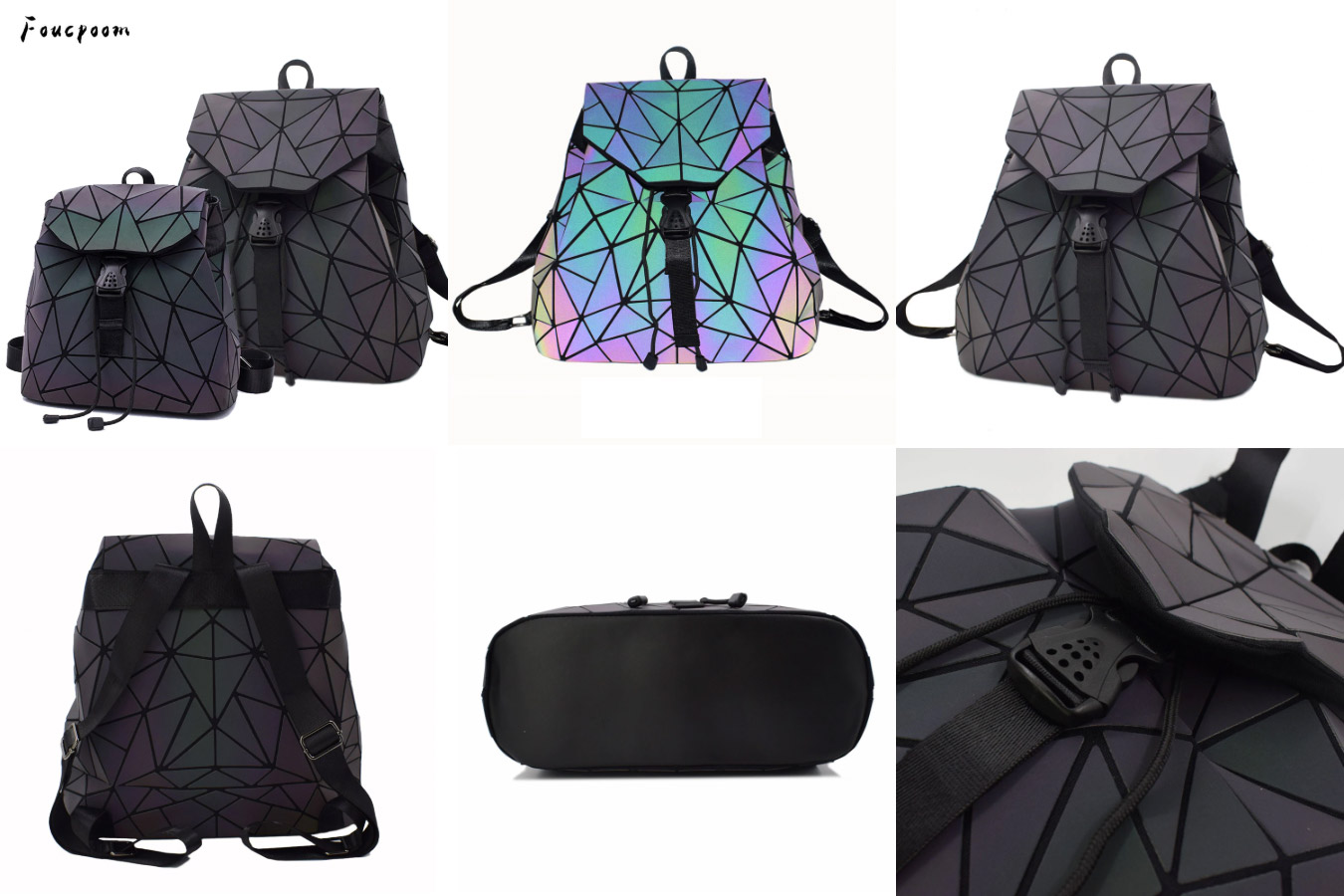 Рюкзак с флуоресцентным эффектом