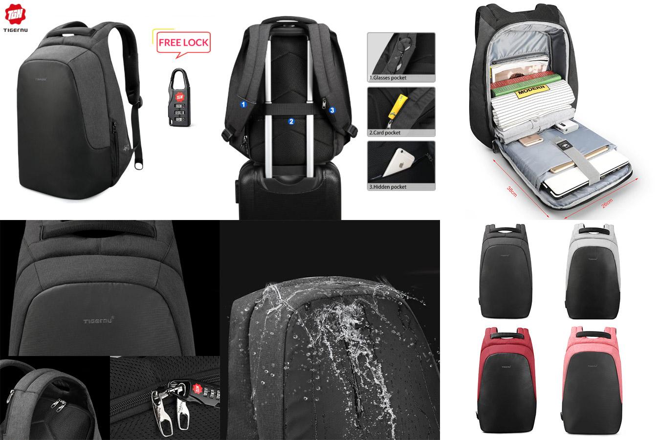 Рюкзак с системой «антивор»