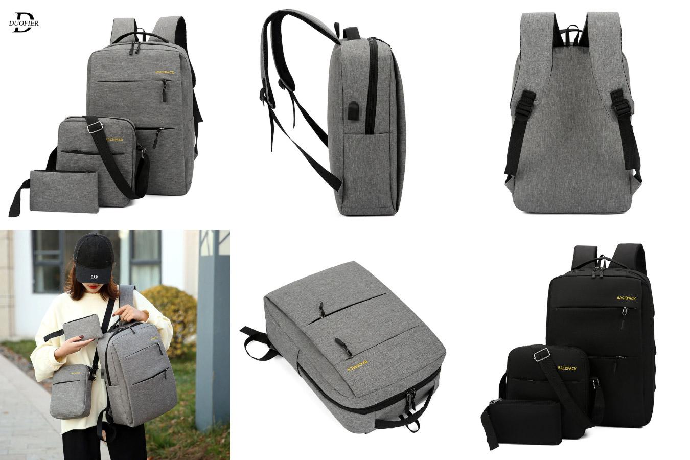 Мужской рюкзак «3 в 1» с алиэкспресс