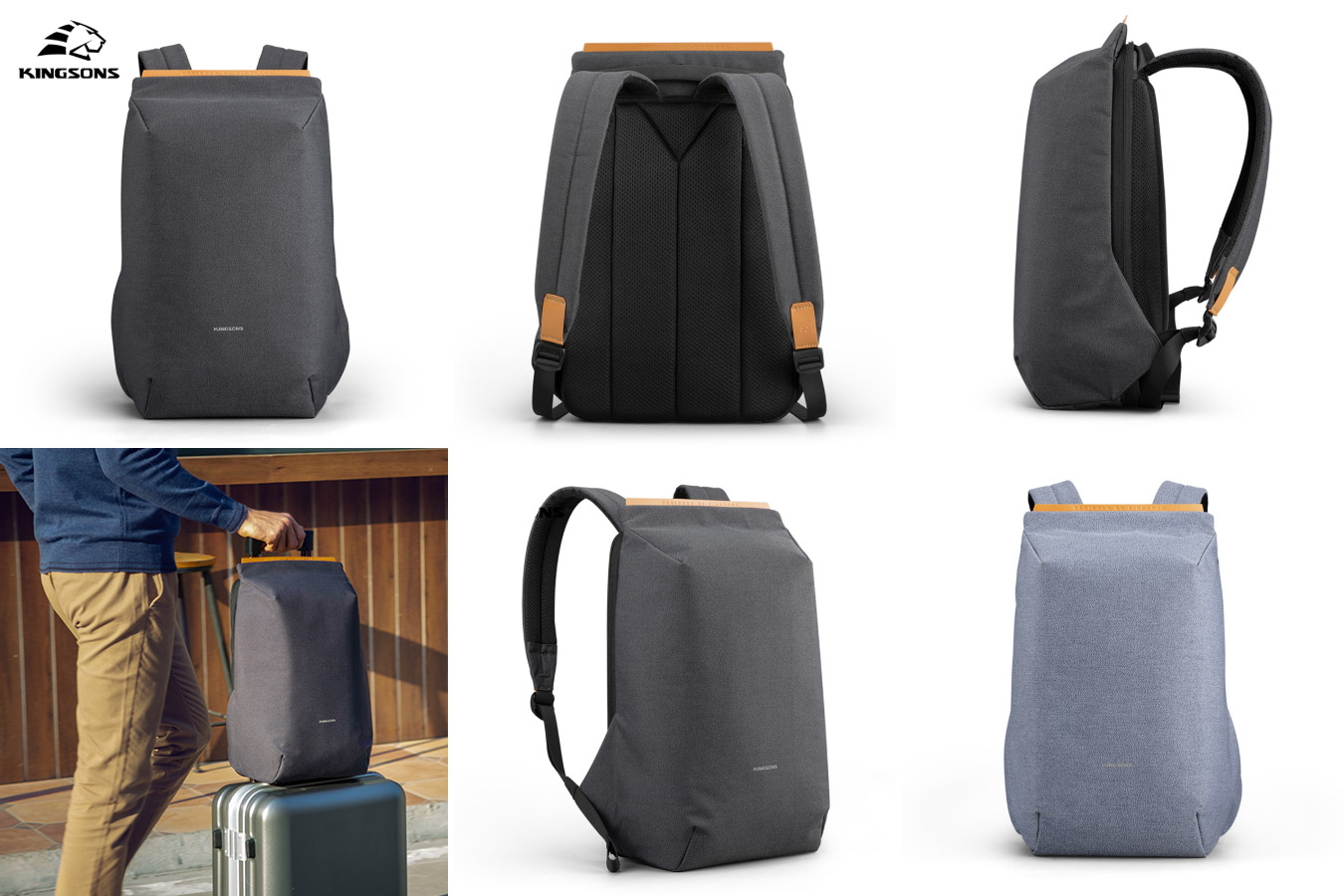 Стильный и удобный городской рюкзак