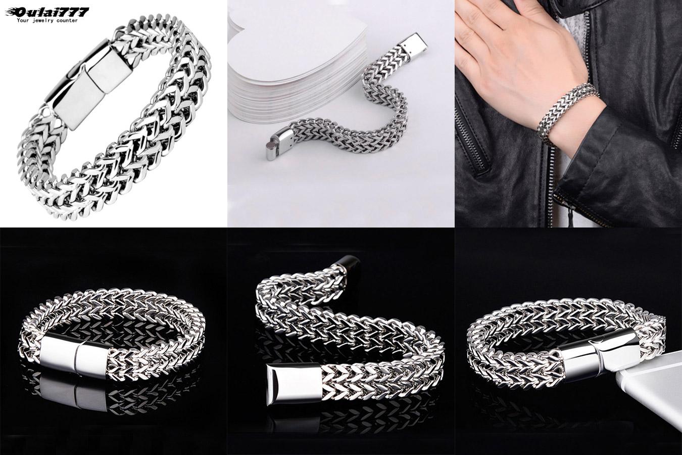 Роскошный браслет для мужчин