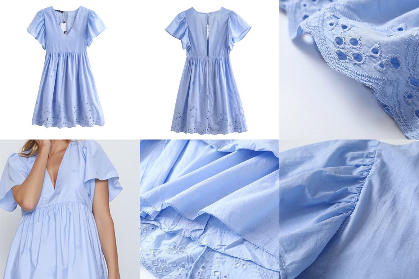 Платье-рубашка с алиэкспресс