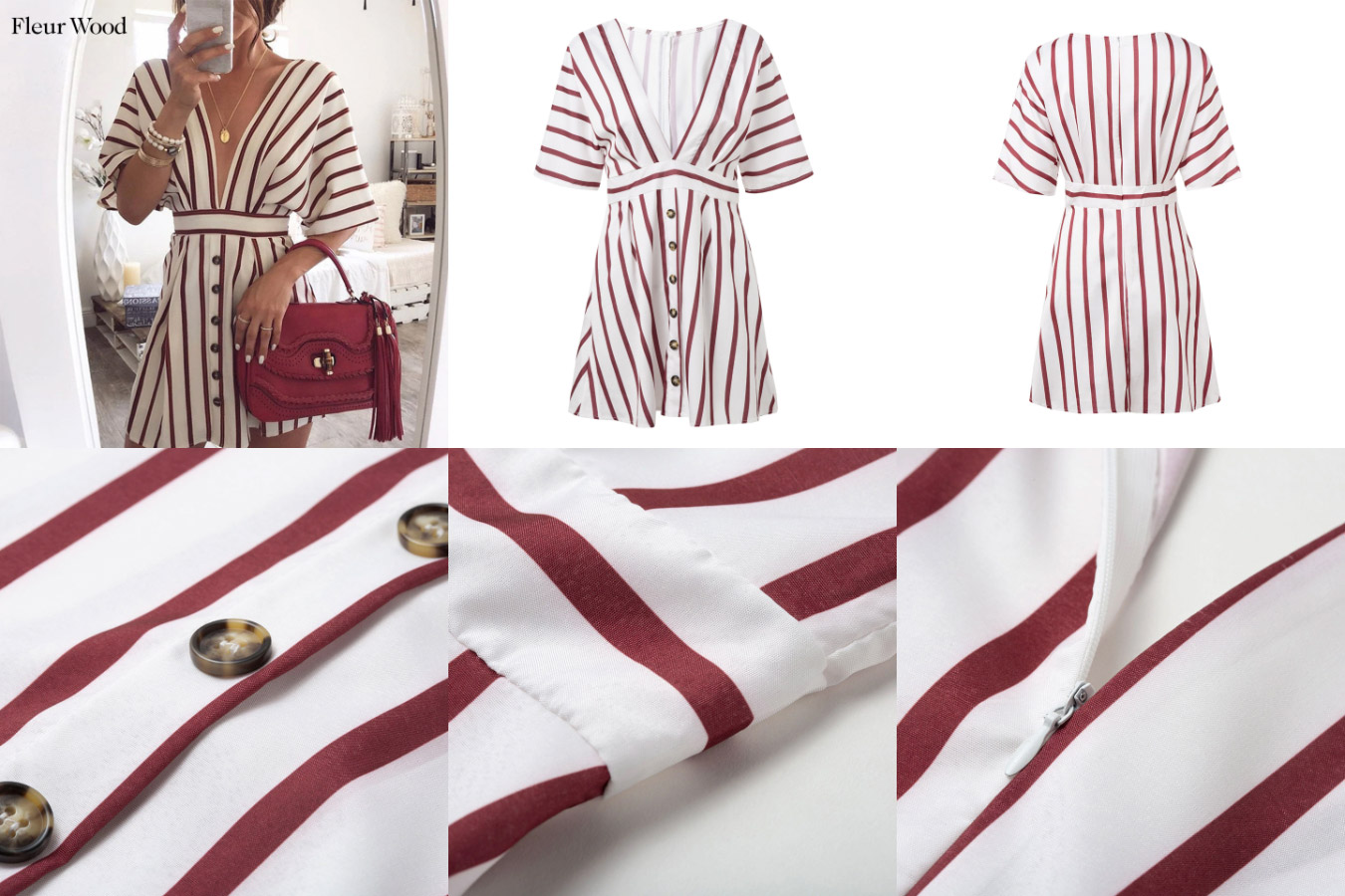 Платье от бренда Fleur wood