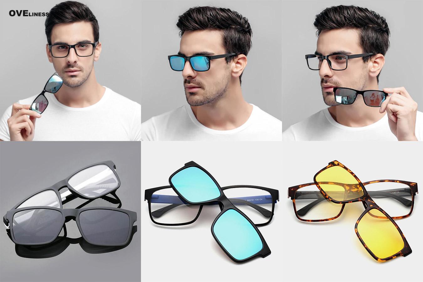 Классические мужские очки с алиэкспресс