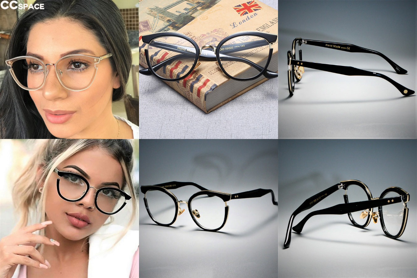 Необычные очки для женщин