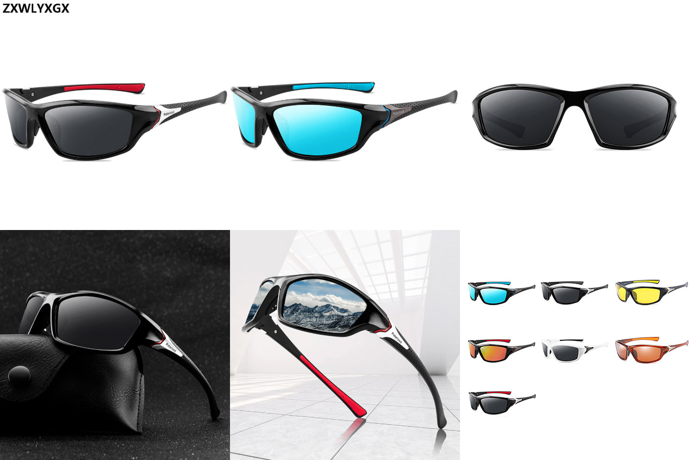 Зеркальные очки для вождения и отдыха