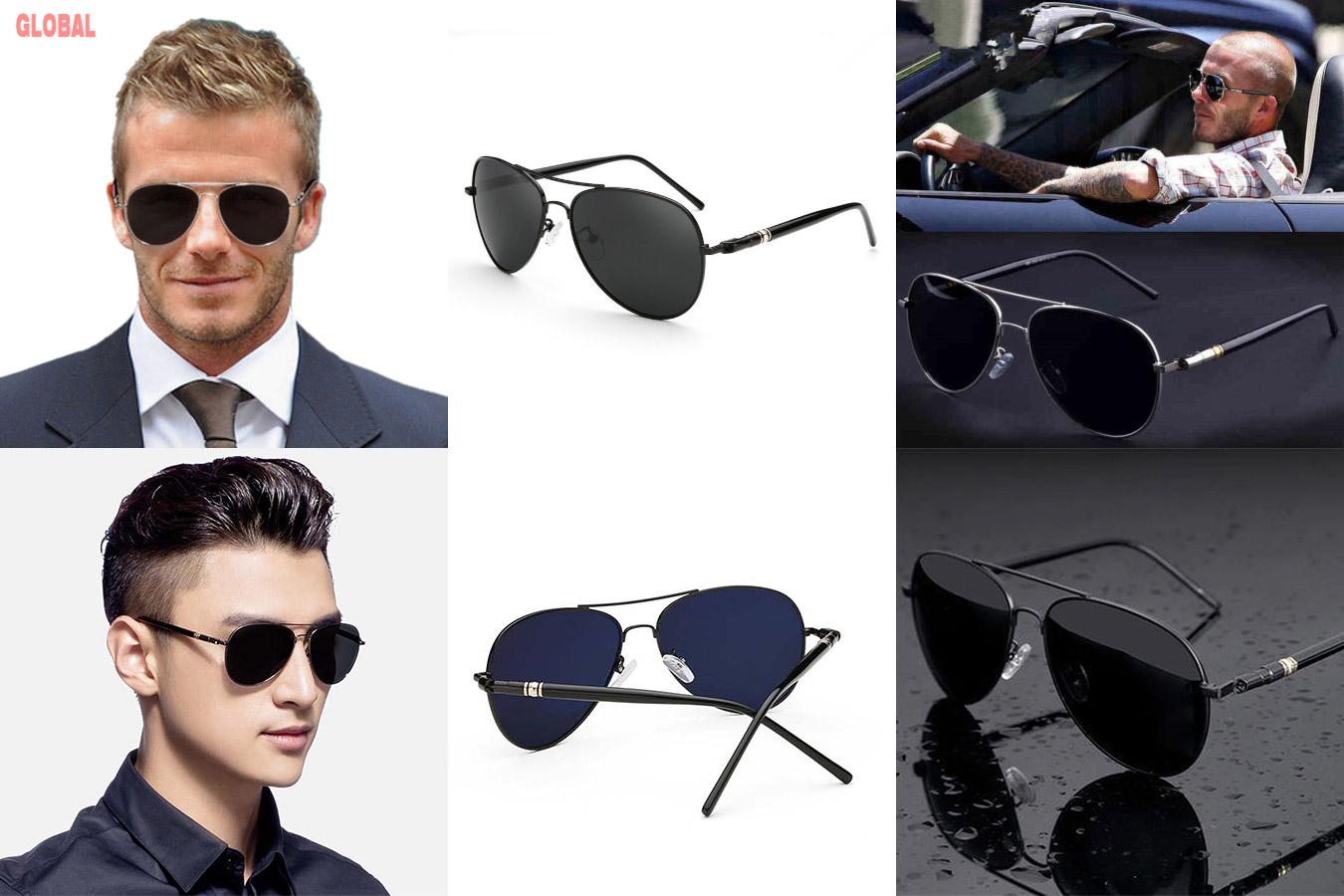 Солнцезащитные очки-авиаторы для мужчин