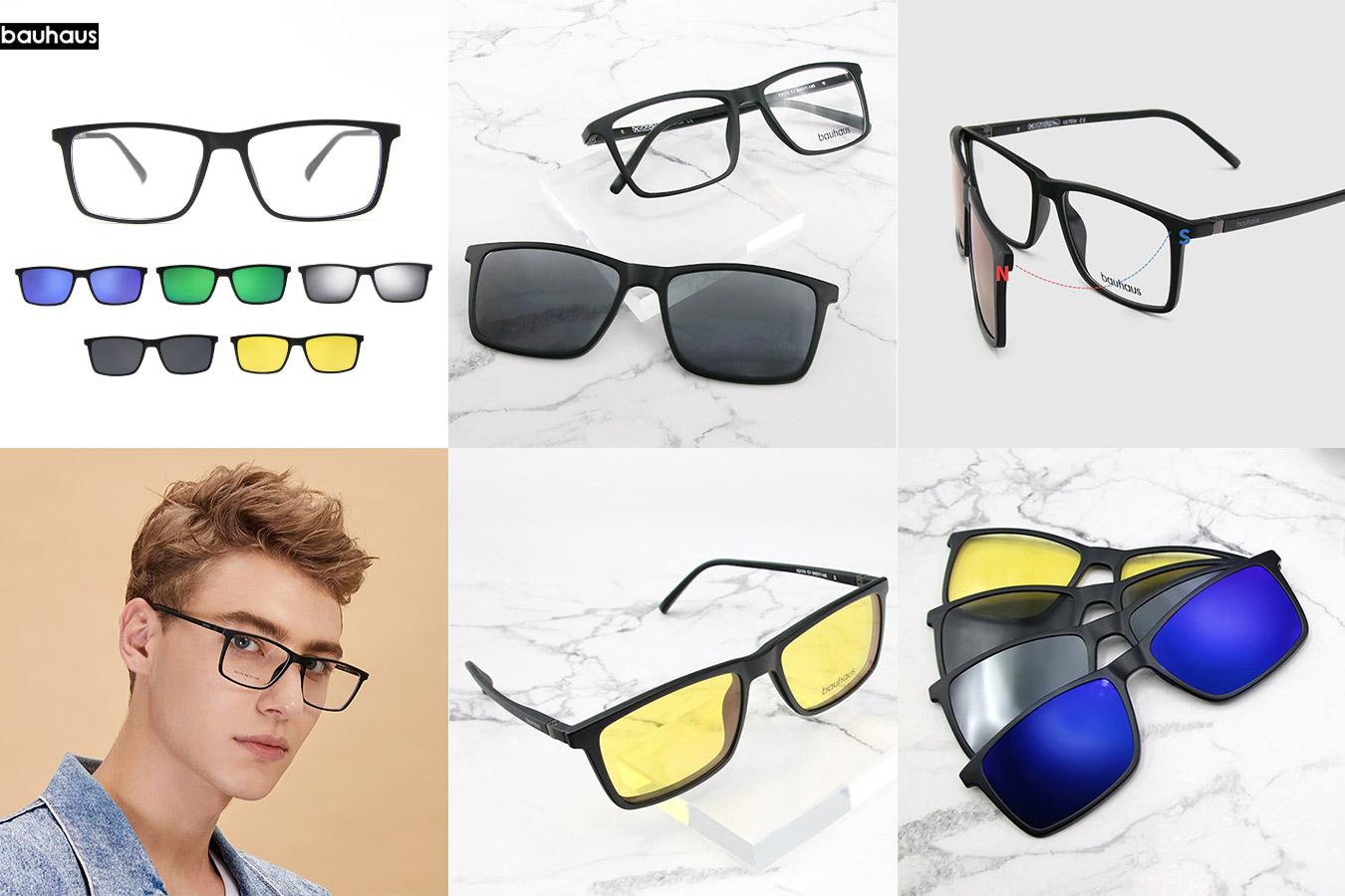 Мужские матовые очки с алиэкспресс