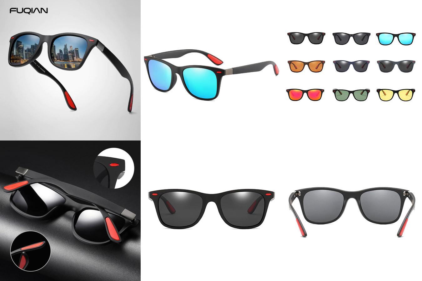 Классические очки с квадратными линзами