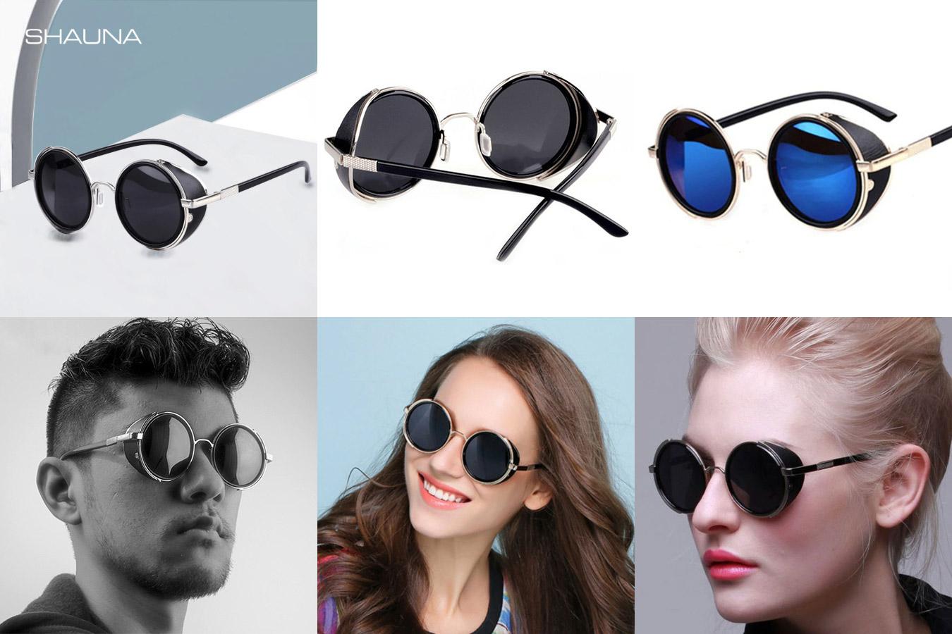 Солнцезащитные очки со шторками SHAUNA