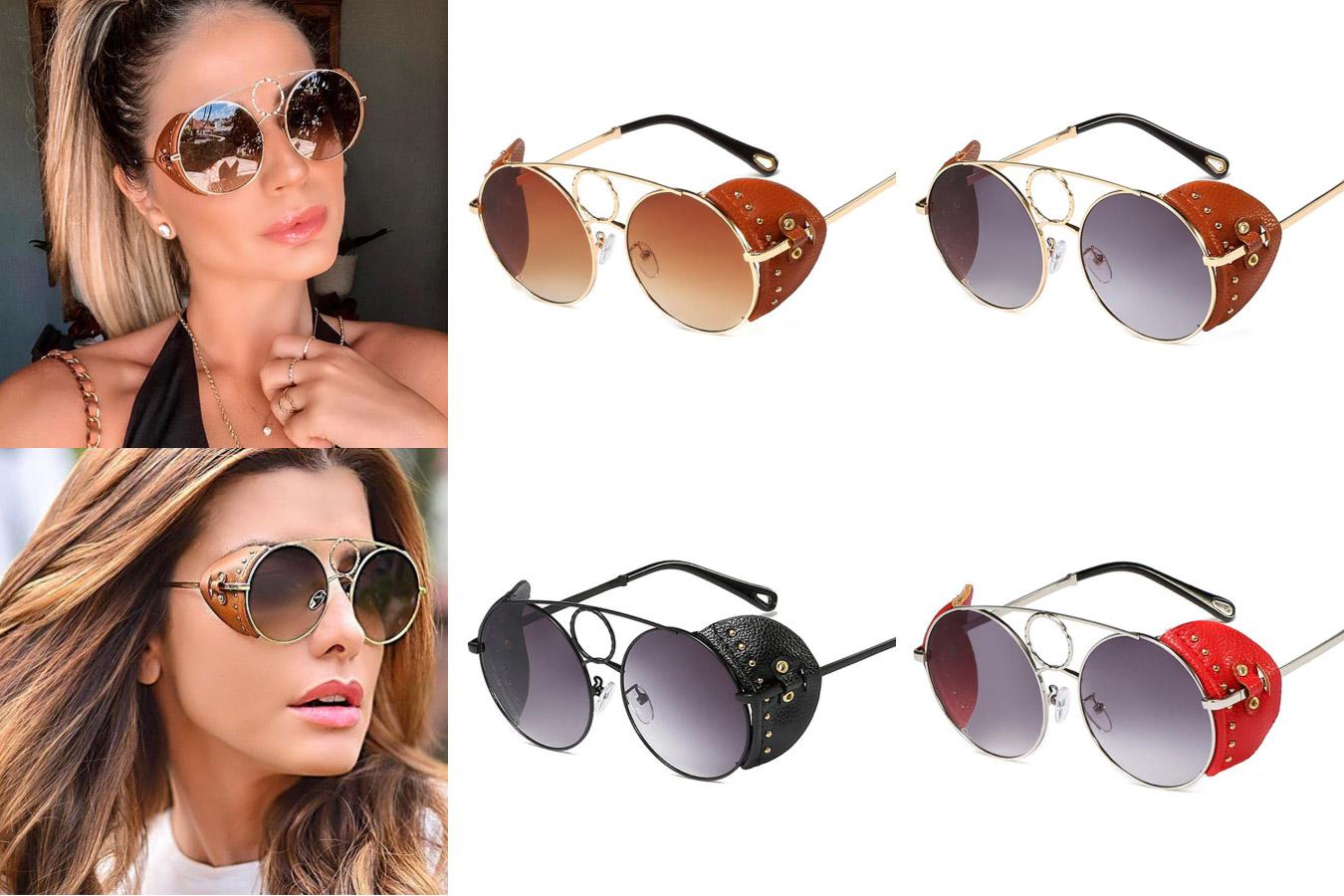 Женские дизайнерские очки с украшениями