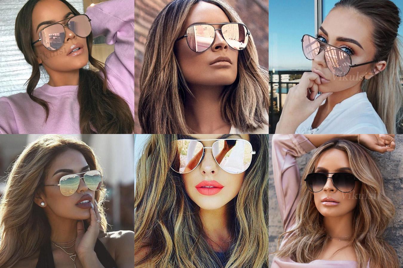Изысканные очки с большими линзами