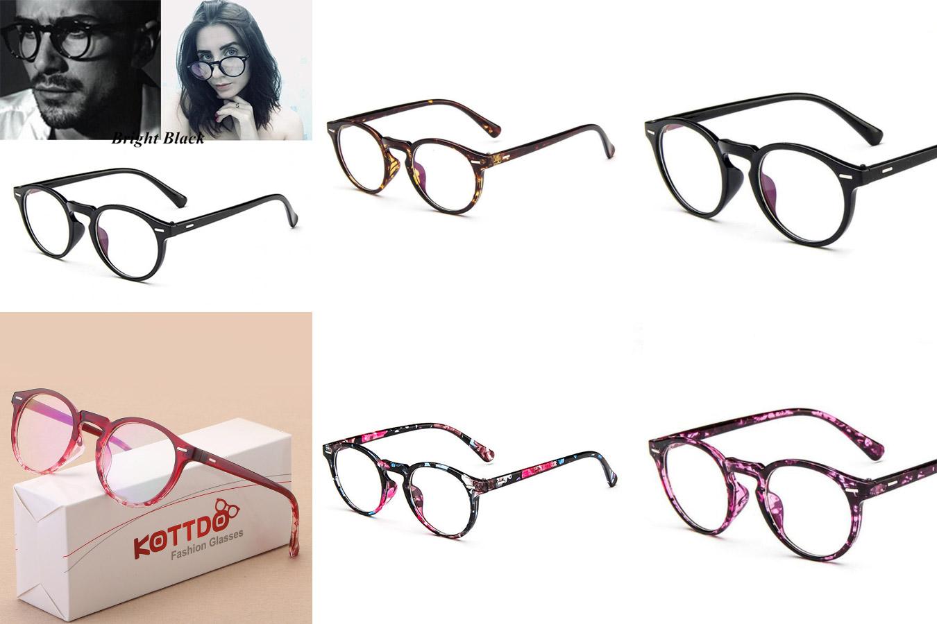 Винтажные круглые очки