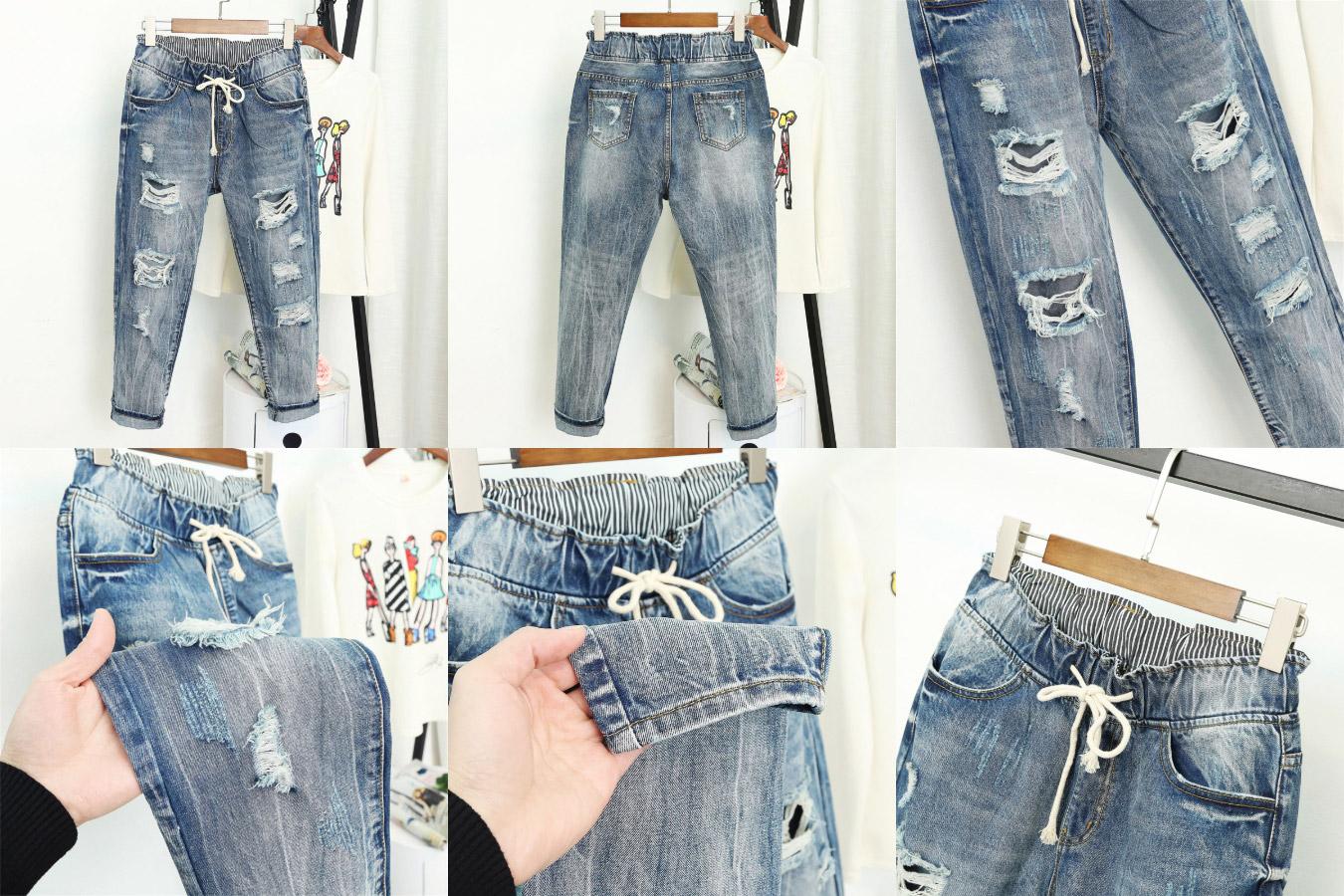 Рваные джинсы для дерзких девчонок