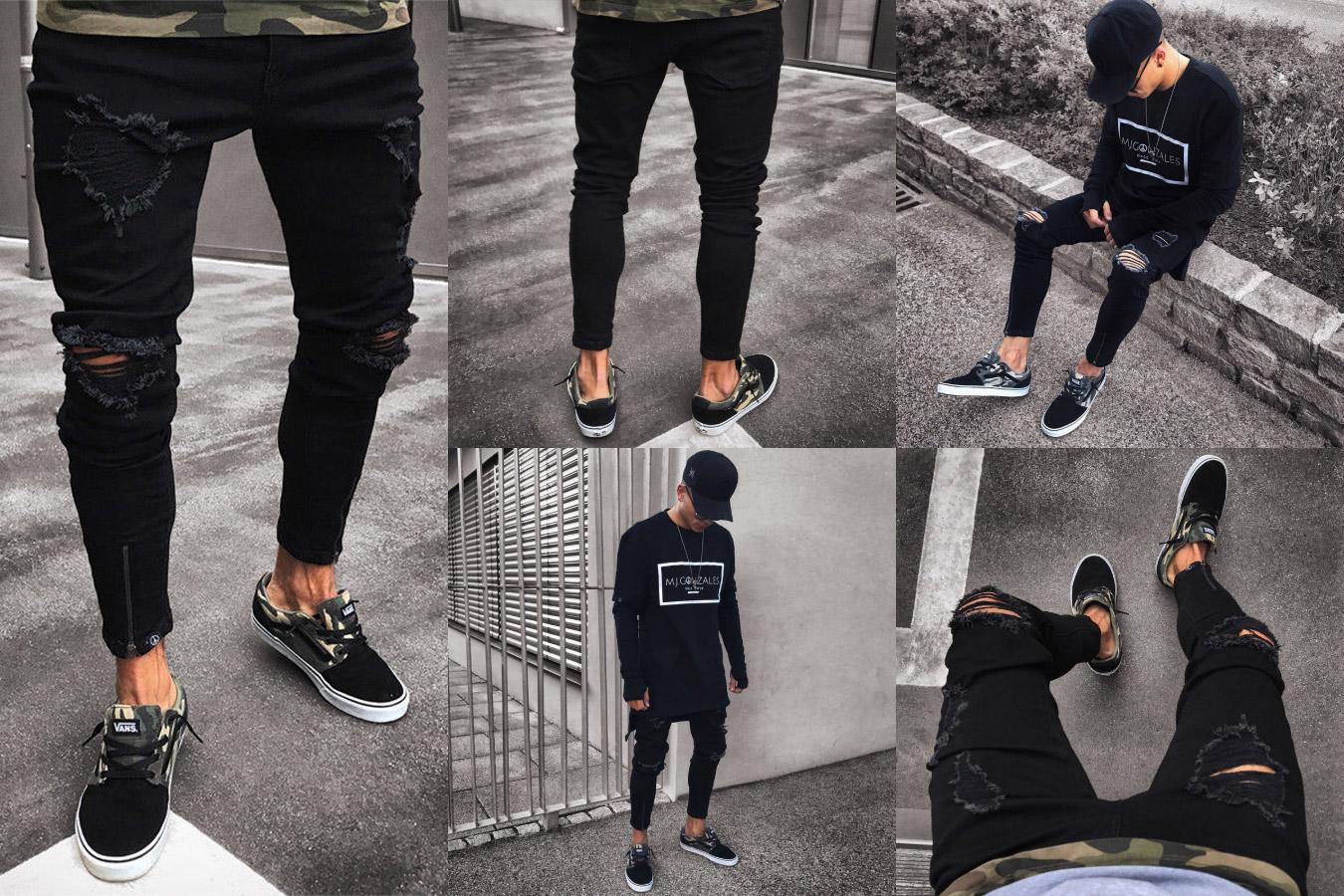 Лучшие рваные джинсы